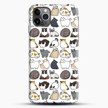 Load image into Gallery viewer, Cats Cats Cats iPhone 11 Pro Max Case.jpg, Snap Case | Webluence.com