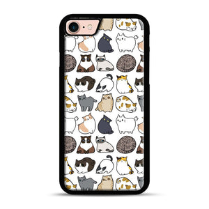 Cats Cats Cats iPhone 7/8 Case.jpg, Black Plastic Case | Webluence.com
