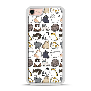Cats Cats Cats iPhone 7/8 Case.jpg, White Rubber Case | Webluence.com