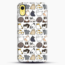 Load image into Gallery viewer, Cats Cats Cats iPhone XR Case, Snap Case | Webluence.com