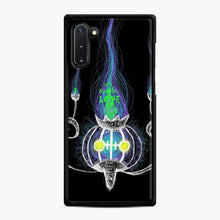 Load image into Gallery viewer, Chandelure Samsung Galaxy Note 10 Case, Black Rubber Case