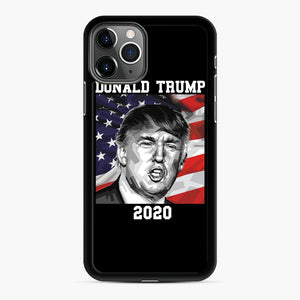 Check out this awesome 'American+President+Donald+Trump+2020' design iPhone 11 Pro Max Case, Black Rubber Case | Webluence.com