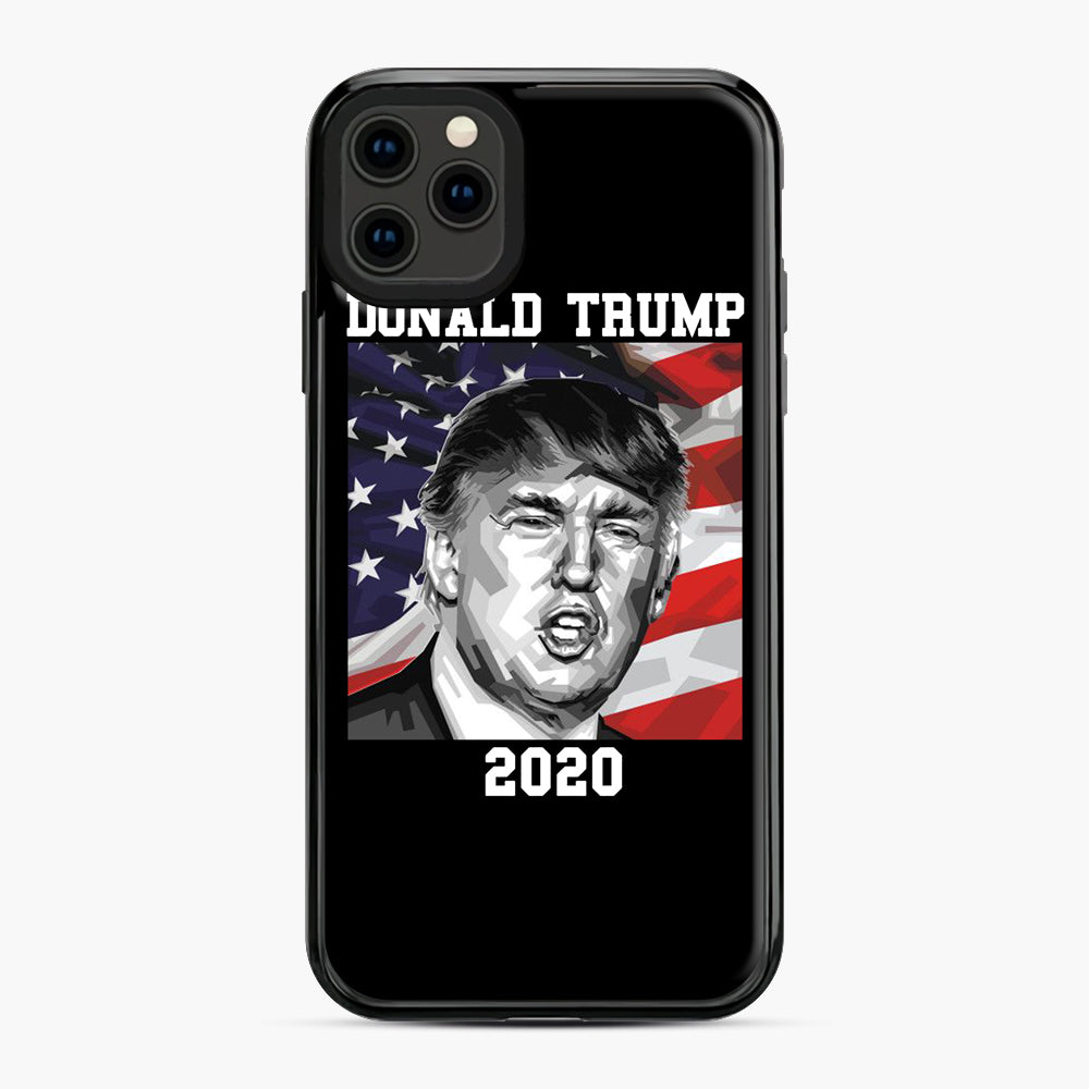 Check out this awesome 'American+President+Donald+Trump+2020' design iPhone 11 Pro Max Case, Black Plastic Case | Webluence.com