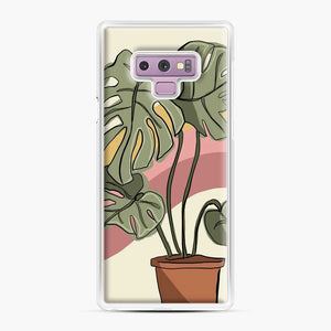 Cheeseplant Lines Seventies Samsung Galaxy Note 9 Case