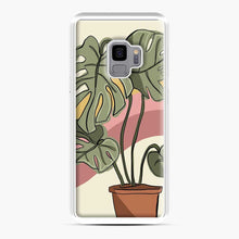 Load image into Gallery viewer, Cheeseplant Lines Seventies Samsung Galaxy S9 Case