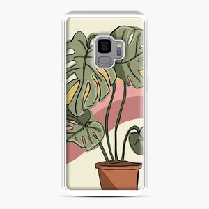 Cheeseplant Lines Seventies Samsung Galaxy S9 Case