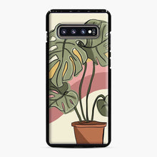 Load image into Gallery viewer, Cheeseplant Lines Seventies Samsung Galaxy S10 Plus Case
