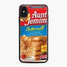 Load image into Gallery viewer, Classic Aunt Jemima iPhone XS Max Case, Black Plastic Case