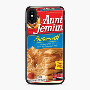 Classic Aunt Jemima iPhone XS Max Case, Black Plastic Case