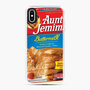Classic Aunt Jemima iPhone XS Max Case, White Plastic Case