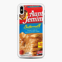 Load image into Gallery viewer, Classic Aunt Jemima iPhone XS Max Case, White Rubber Case