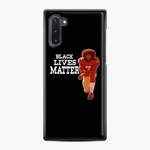 Colin Kaepernick My Mvp Samsung Galaxy Note 10 Case, Black Plastic Case