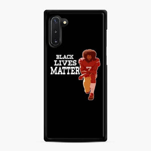 Colin Kaepernick My Mvp Samsung Galaxy Note 10 Case, Black Rubber Case