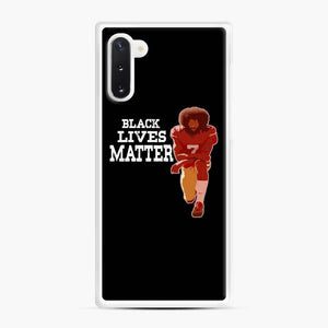 Colin Kaepernick My Mvp Samsung Galaxy Note 10 Case, White Rubber Case