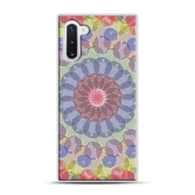 Load image into Gallery viewer, Colored Samsung Galaxy Note 10 Case, White Rubber Case | Webluence.com