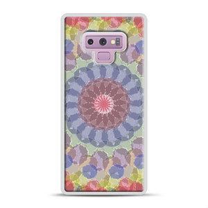 Colored Samsung Galaxy Note 9 Case, White Plastic Case | Webluence.com