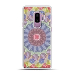 Colored Samsung Galaxy S9 Plus Case, White Rubber Case | Webluence.com