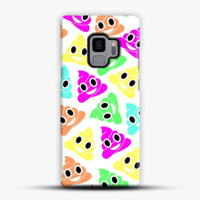 Load image into Gallery viewer, Colourful Poop Emojis Samsung Galaxy S9 Case, Snap Case | Webluence.com