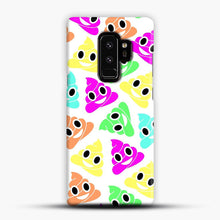 Load image into Gallery viewer, Colourful Poop Emojis Samsung Galaxy S9 Plus Case, Snap Case | Webluence.com