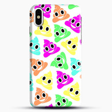 Load image into Gallery viewer, Colourful Poop Emojis iPhone X/XS Case, Snap Case | Webluence.com