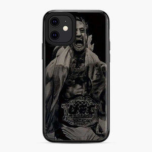 Conor Mcgregor Belt Victory White Black iPhone 11 Case