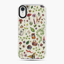 Load image into Gallery viewer, Cottagecore Light Green Rabbit Green Witch iPhone XR Case