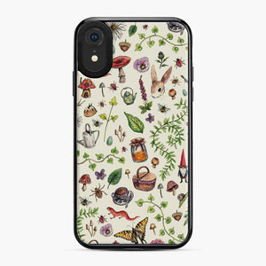 Cottagecore Light Green Rabbit Green Witch iPhone XR Case