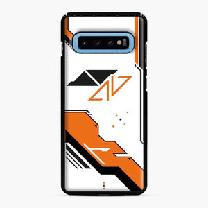 Counter Strike Asiimov Design Scgo Samsung Galaxy S10 Case, Black Plastic Case