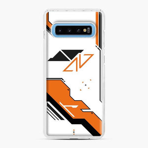 Counter Strike Asiimov Design Scgo Samsung Galaxy S10 Case, White Plastic Case