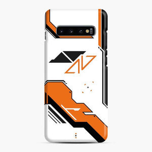 Counter Strike Asiimov Design Scgo Samsung Galaxy S10 Case, Snap Case