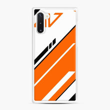 Load image into Gallery viewer, Counter Strike Global Offensive Cs Go Asiimov Samsung Galaxy Note 10 Case, White Rubber Case