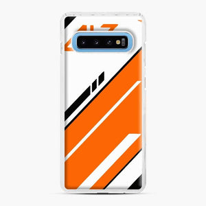 Counter Strike Global Offensive Cs Go Asiimov Samsung Galaxy S10 Case, White Plastic Case