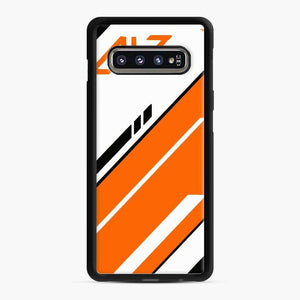 Counter Strike Global Offensive Cs Go Asiimov Samsung Galaxy S10 Case, Black Rubber Case