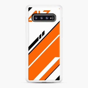 Counter Strike Global Offensive Cs Go Asiimov Samsung Galaxy S10 Case, White Rubber Case