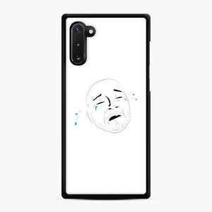 Crying Nazi Samsung Galaxy Note 10 Case, Black Rubber Case