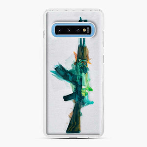 Cs Go Ak 47 Fire Serpent Samsung Galaxy S10 Case, White Plastic Case