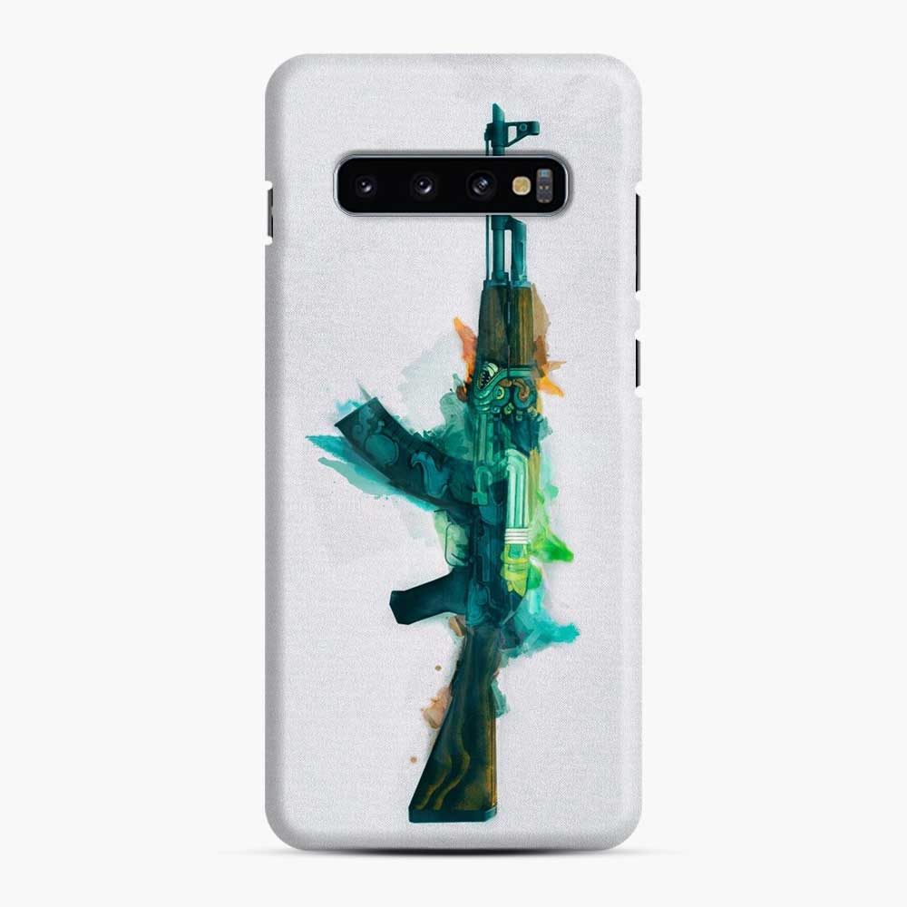 Cs Go Ak 47 Fire Serpent Samsung Galaxy S10 Case, Snap Case