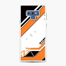 Load image into Gallery viewer, Cs Go Asiimov 1 Samsung Galaxy Note 9 Case, White Rubber Case