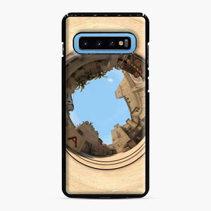 Cs Go Mirage Panorama Samsung Galaxy S10 Case, Black Plastic Case