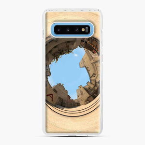 Cs Go Mirage Panorama Samsung Galaxy S10 Case, White Plastic Case