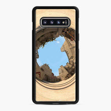 Load image into Gallery viewer, Cs Go Mirage Panorama Samsung Galaxy S10 Case, Black Rubber Case