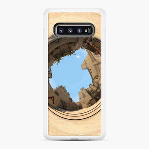 Cs Go Mirage Panorama Samsung Galaxy S10 Case, White Rubber Case