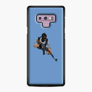 Cs Go Terrorists Sticker Samsung Galaxy Note 9 Case, Black Plastic Case