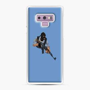 Cs Go Terrorists Sticker Samsung Galaxy Note 9 Case, White Plastic Case