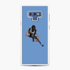Cs Go Terrorists Sticker Samsung Galaxy Note 9 Case, White Rubber Case