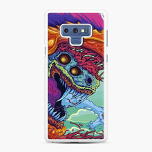Load image into Gallery viewer, Csgo Hyper Beast Skin Samsung Galaxy Note 9 Case, White Rubber Case