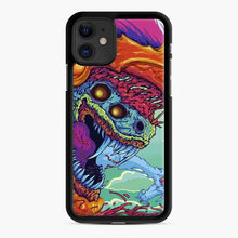 Load image into Gallery viewer, Csgo Hyper Beast Skin iPhone 11 Case, Black Rubber Case