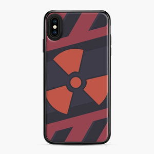 Csgo Nuclear iPhone XS Max Case, Black Plastic Case
