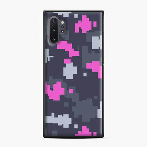 Csgo Pink Ddpat Camo Samsung Galaxy Note 10 Plus Case, Black Plastic Case