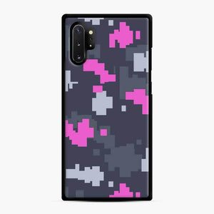Csgo Pink Ddpat Camo Samsung Galaxy Note 10 Plus Case, Black Rubber Case